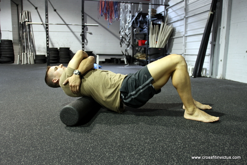 thoracic spine foam roll