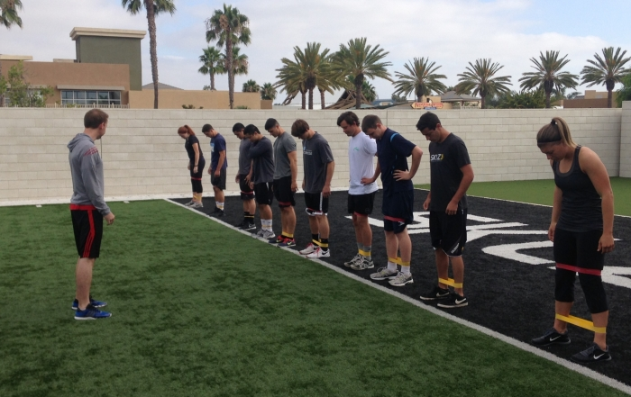 strength and conditioning intern